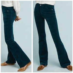 Pilcro by Anthro High Rise Bootcut Corduroy Pants